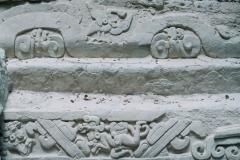 Mayan carvings at El Mirador