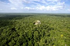 Vista aérea de La Danta