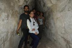 Inside the ruins at La Muerta