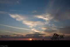 Sunset from Temple 1, Nakbe