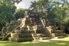 Uaxactún Pyramid on Watch Day